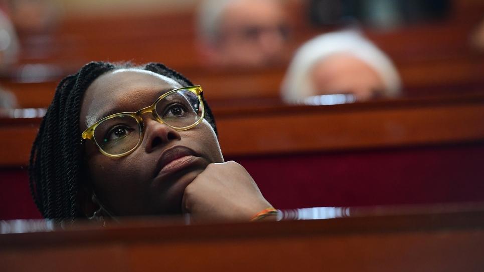 La porte-parole du gouvernement Sibeth NDiaye le 12 septembre 2019 à Paris
