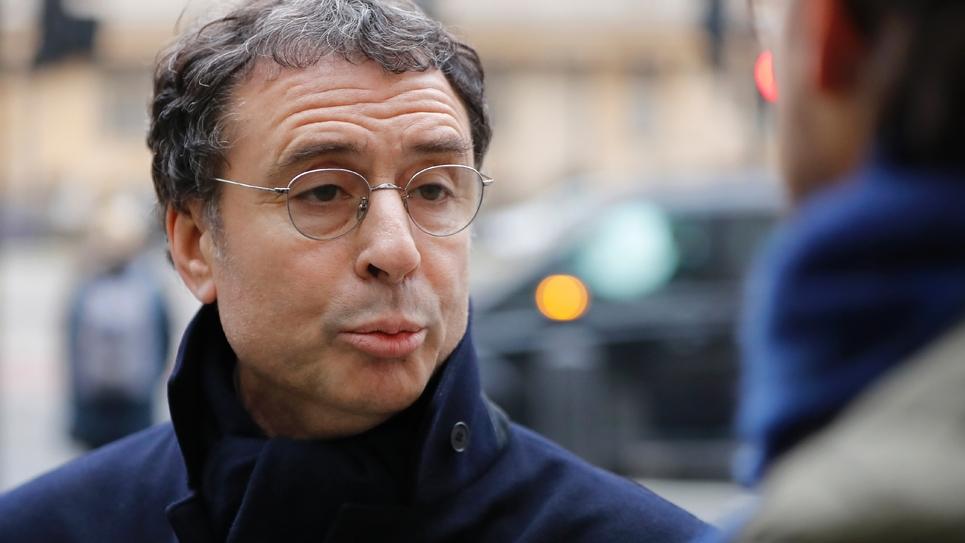 Alexandre Djouhri à Londres le 21 janvier 2019