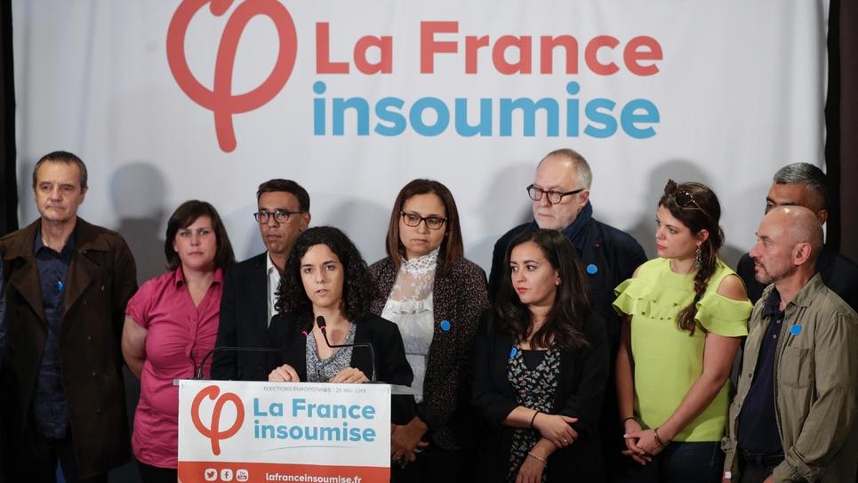 Manon Aubry, le 26 mai 2019