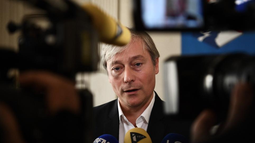Laurent Henart, maire de Nancy et président du Mouvement radical, le 12 octobre 2016 à Paris