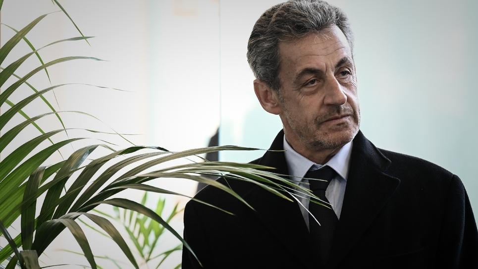 Nicolas Sarkozy à Paris, le 21 mars 2019