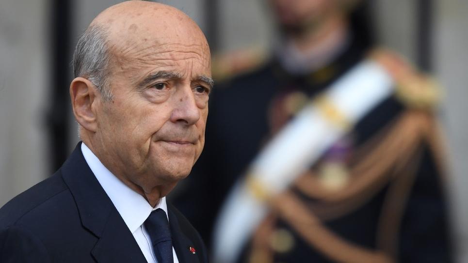 L'ancien Premier ministre Alain Juppé arrive à l'église Saint-Sulpice pour l'hommage solennel à Jacques Chirac, le 30 septembre 2019