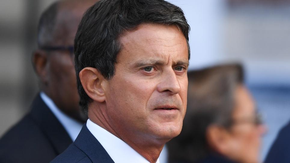 Manuel Valls le 30 septembre 2019 à Paris