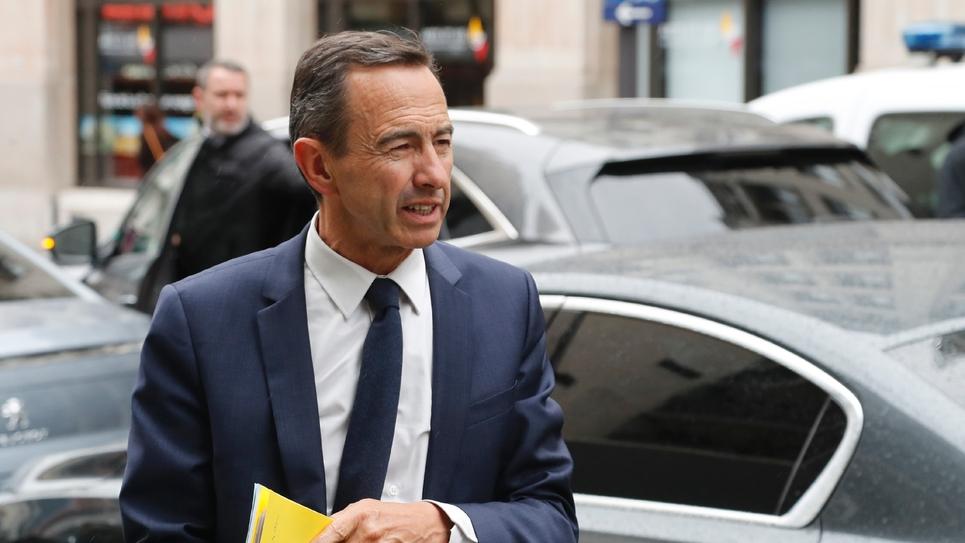 Le président du groupe Les Républicains (LR) au Sénat Bruno Retailleau, le 11 juin 2019 à Paris