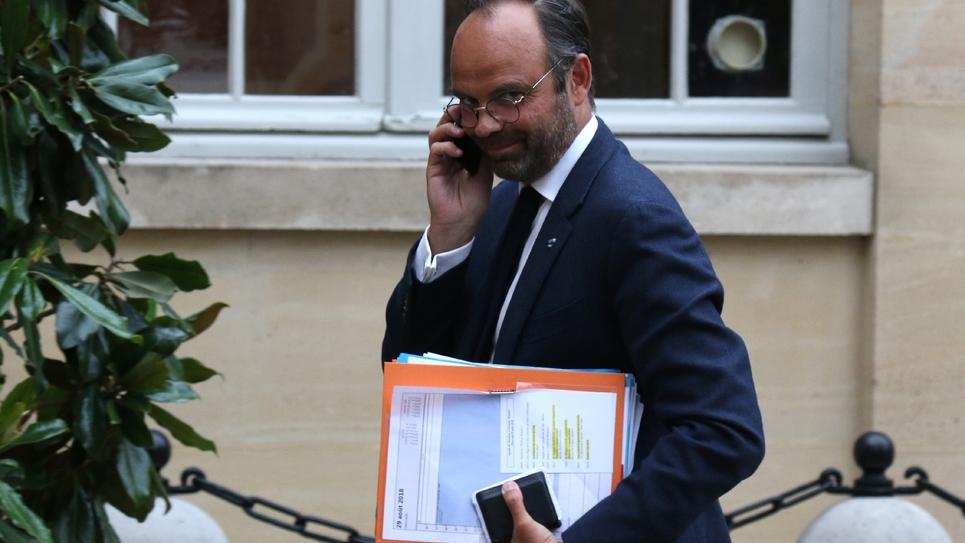 Le Premier ministre Edouard Philippe le 29 août 2018 à Paris