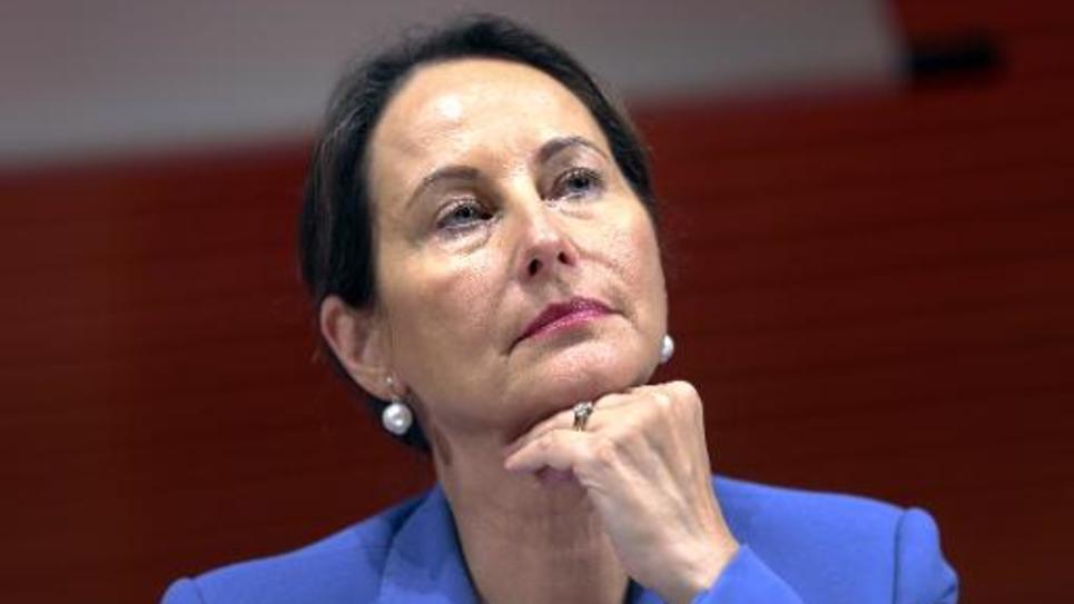 La ministre française de l'Ecologie Ségolène Royal lors d'une conférence à Lyon le 15 octobre 2014