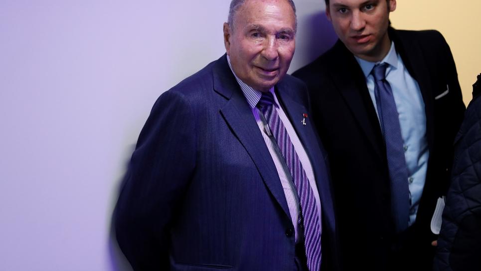 Serge Dassault le 10 janvier 2017 à Paris