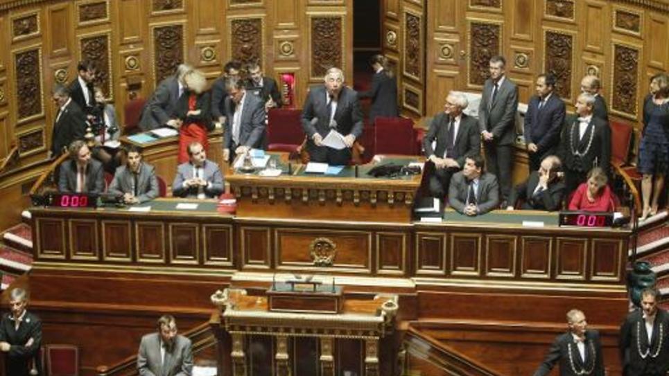 Le Sénat à Paris, le 1er octobre 2014