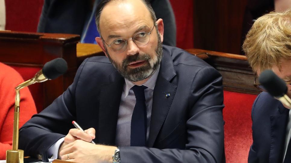 Edouard Philippe à l'Assemblée nationale le 14 janvier 2020