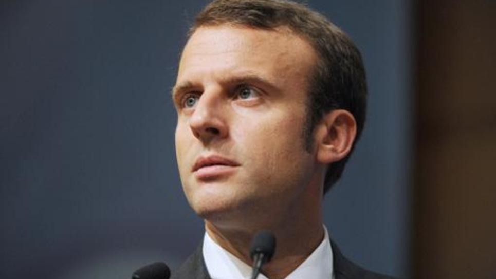 Le ministre de l'Economie, Emmanuel Macron, le 5 juin 2015 à Paris
