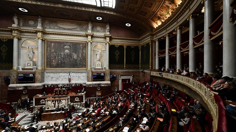 Les députés à l'Assemblée nationale, le 19 décembre 2018