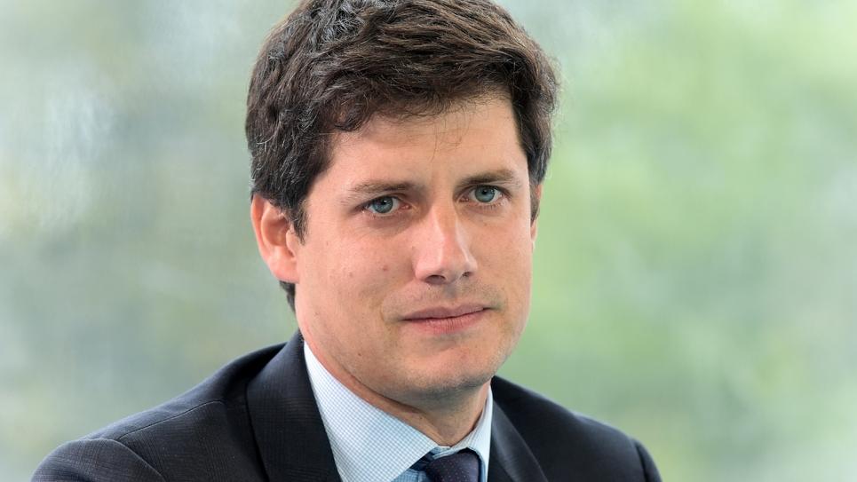 Le ministre du Logement Julien Denormandie, à Jouy-en-Josas le 29 août 2018