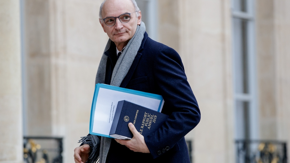 Didier Migaud en février 2019 à l'Elysée