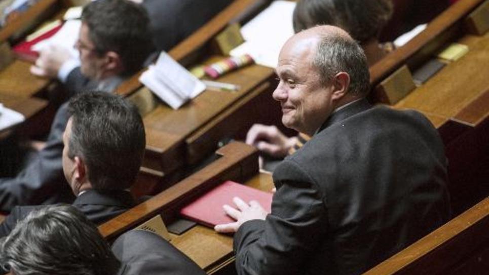 Bruno Le Roux le 16 mai 2013 à l'Assemblée nationale à Paris