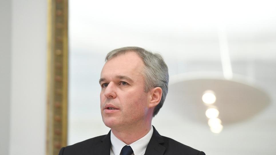 François de Rugy, candidat écologiste à la primaire organisée par le PS, présente son programme, le 16 décembre 2016 à Paris