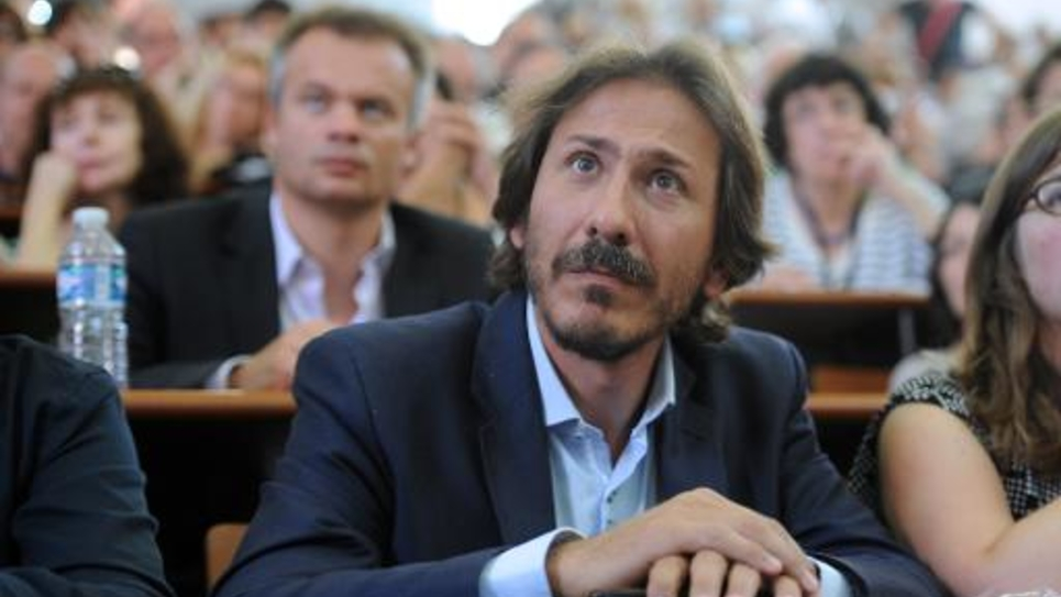 Le socialiste Jérôme Guedj, le 30 août 2014 à La Rochelle