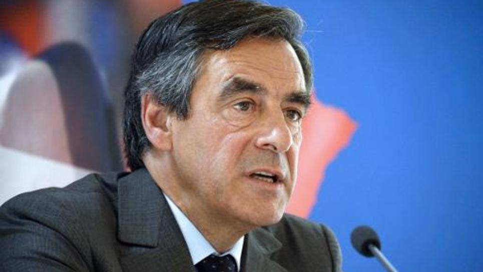 L'ex-Premier ministre François Fillon lors d'une conférence de presse à Paris le 25 juin 2014