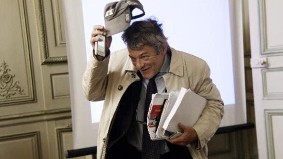 L'ancien ministre Jean-Louis Borloo, à Paris le 8 octobre 2014