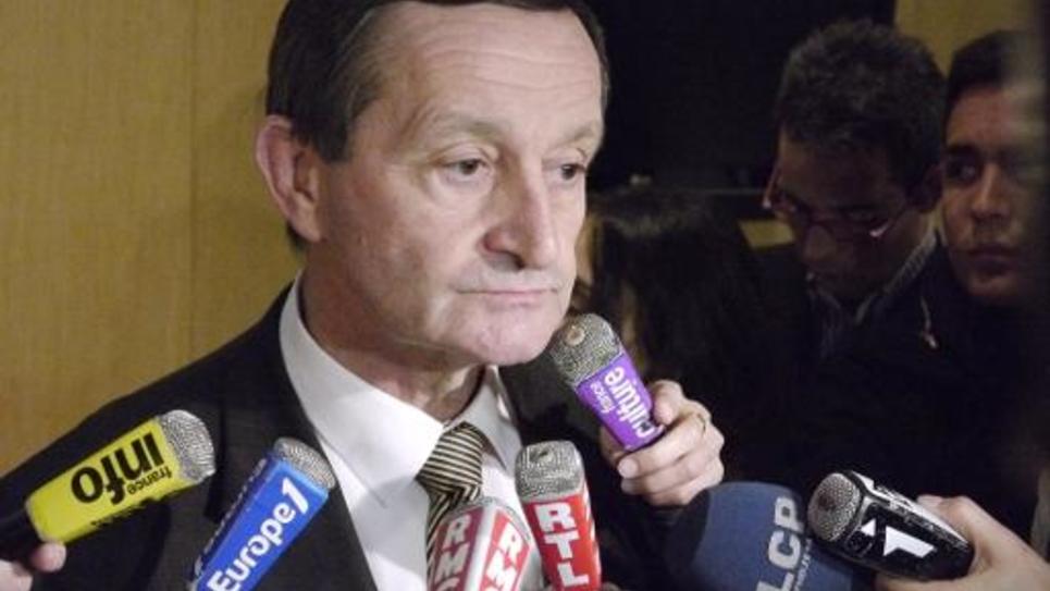 Le député PS Gérard Bapt, le 2 mars 2011 à l'Assemblée nationale, à Paris