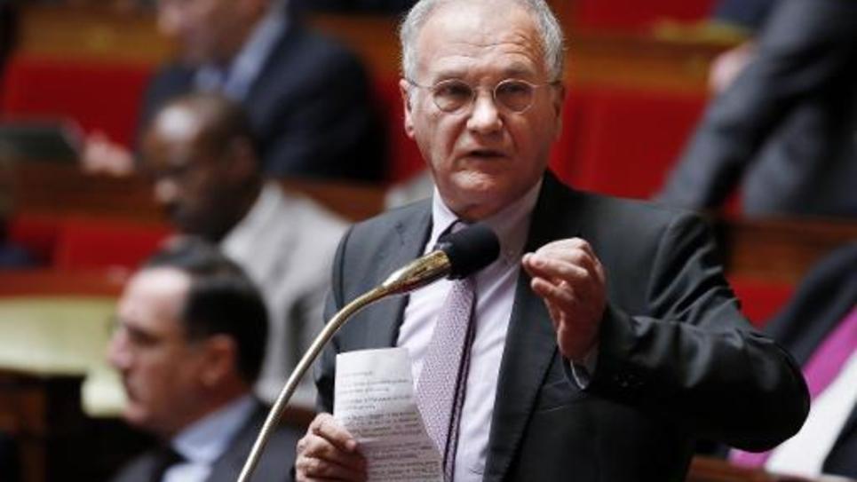 Le président de la commission des Finances de l'Assemblée nationale, Gilles Carrez (UMP), à Paris le 22 janvier 2014