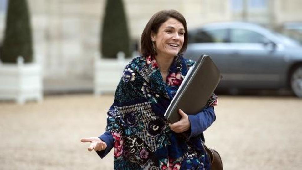 La sénatrice UDI Chantal Jouanno à l'Elysée le 27 novembre 2014