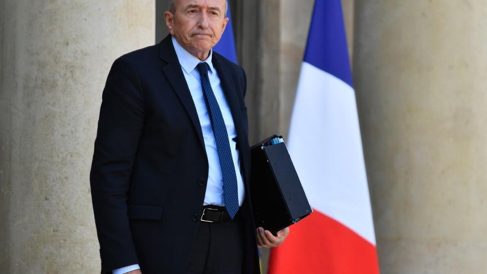 Gérard Collomb à Paris le 16 mai 2018
