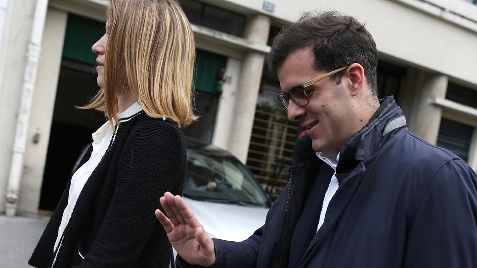 Ismaël Emelien (d) à Paris, le 13 mai 2017