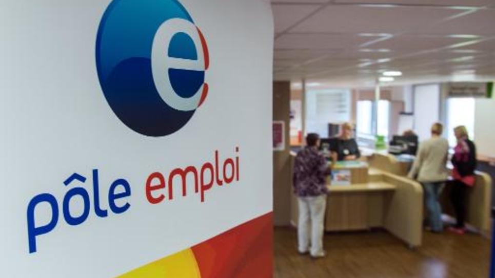 Une agence de pôle emploi le 27 août 2014 à Armentières