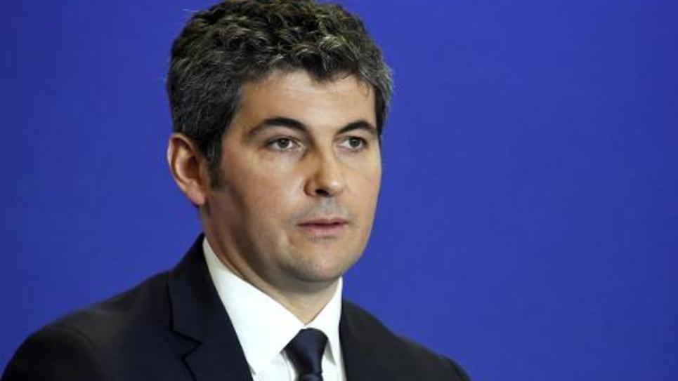 Gilles Platret, maire UMP de Chalon-sur-Saône, le 11 mars 2015 à Paris