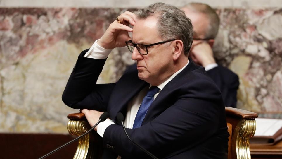 Le président de l'Assemblée nationale Richard Ferrand le 11 décembre 2018 à Paris