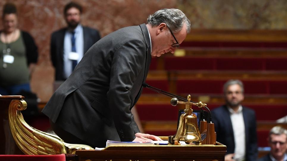 Richard Ferrand à l'Assemblée nationale, le 19 février 2020 à Paris