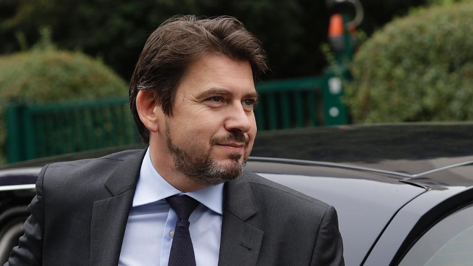 Le conseiller en communication d'Emmanuel Macron, Sylvain Fort, le 13 septembre 2018 à Bagnolet