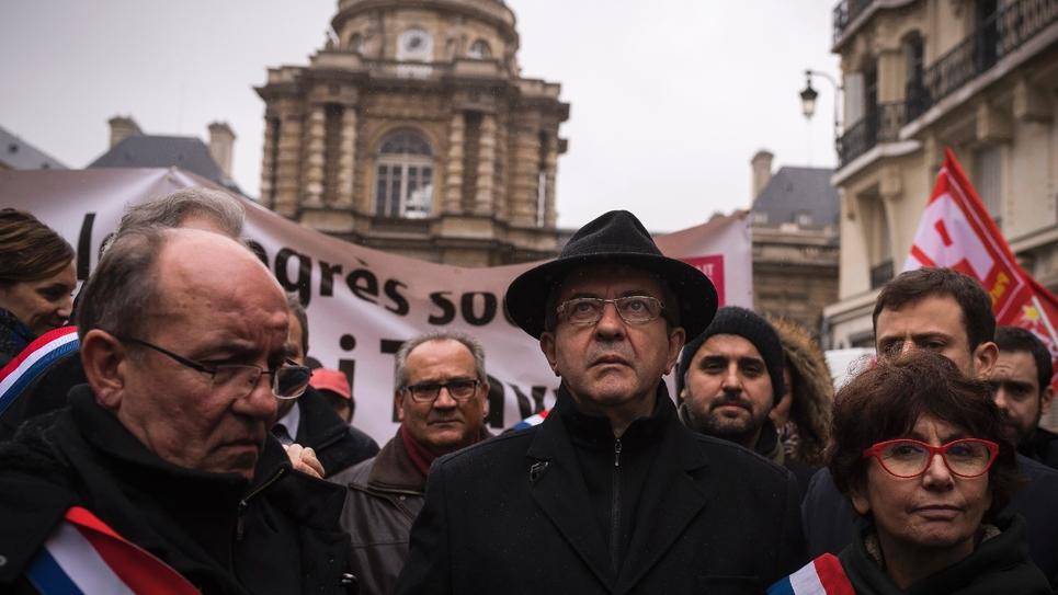 Jean-Luc Mélenchon le 11 janvier 2017 à Paris