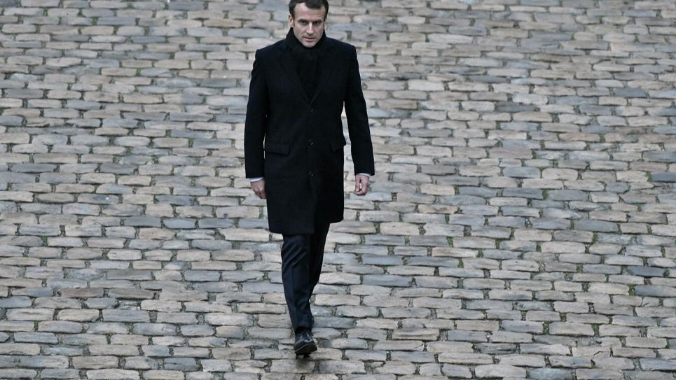 Le président Emmanuel Macron, le 26 novembre 2018 à Paris