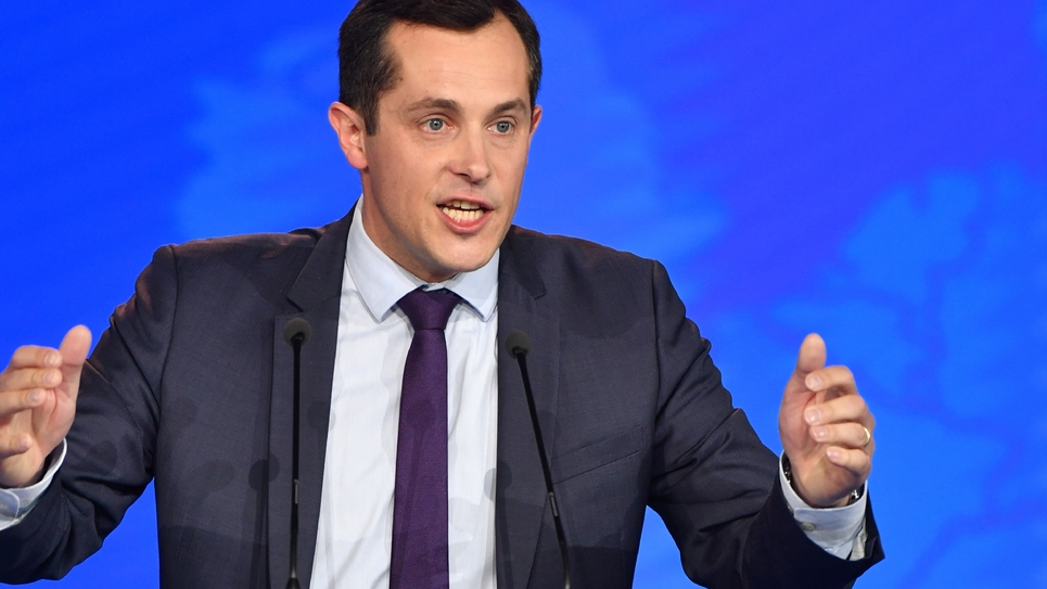 Nicolas Bay, photo du 1er mai 2018.