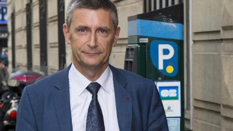 L'ex-patron de la police nationale, Frédéric Péchenard, le 19 septembre 2014 à Paris