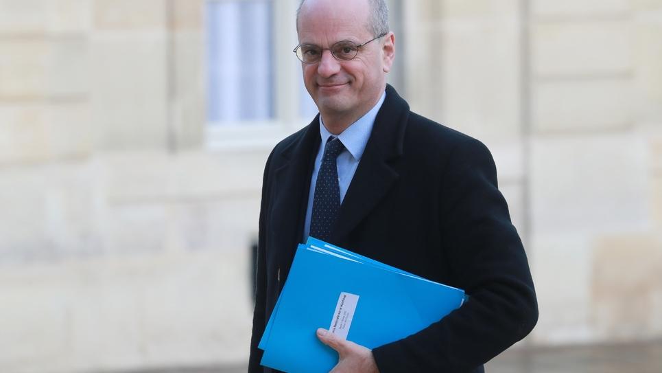 Le ministre de l'Education Jean-Michel Blanquer le 11 février 2020 à Paris