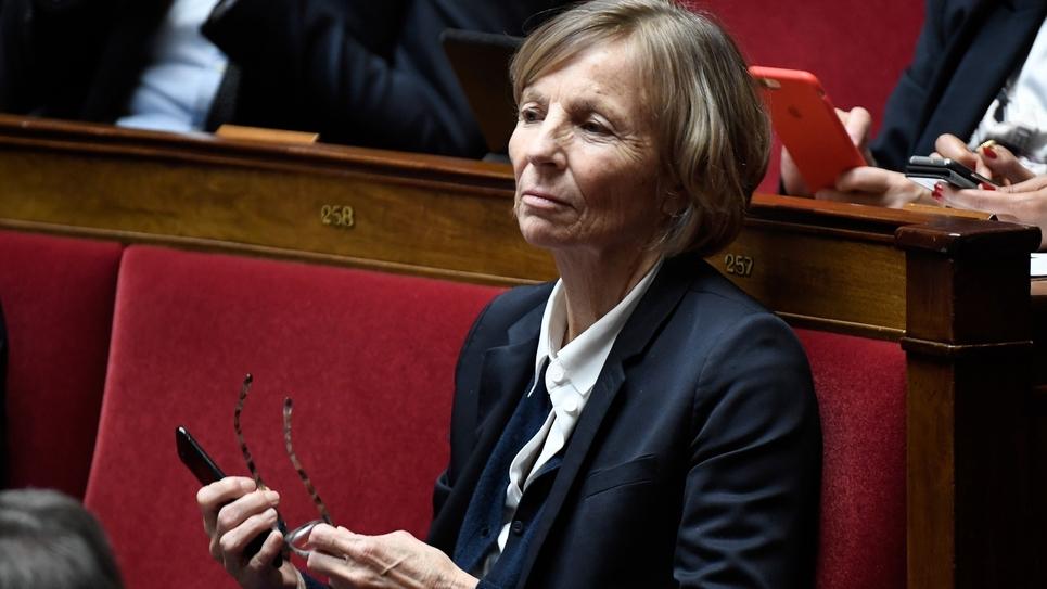 La députée et présidente de la commission des Affaires étrangères de l'Assemblée nationale, Marielle de Sarnez, le 17 janvier 2018