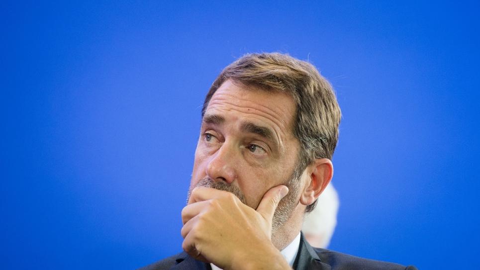 Le ministre de l'Intérieur, Christophe Castaner, à Marseille, le 17 septembre 2019