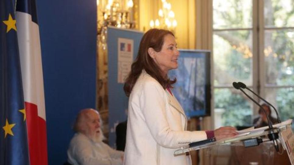 La ministre de l'Ecologie, Ségolène Royal, le 12 mars 2015 à Paris