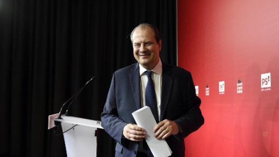 Jean-Christophe Cambadélis le 11 avril 2015 à Paris