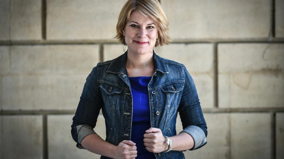 La députée LREM du Nord Valérie Petit, à l'assemblée nationale, le 9 juillet 2019