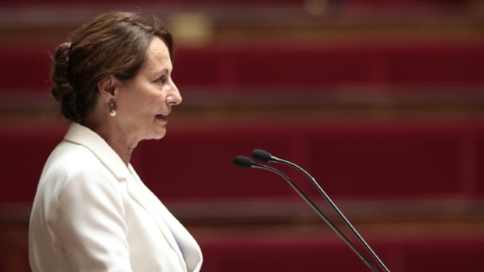 La ministre française de l'Ecologie Ségolène Royal à l'Assemblée Nationale, le 22 juillet 2015