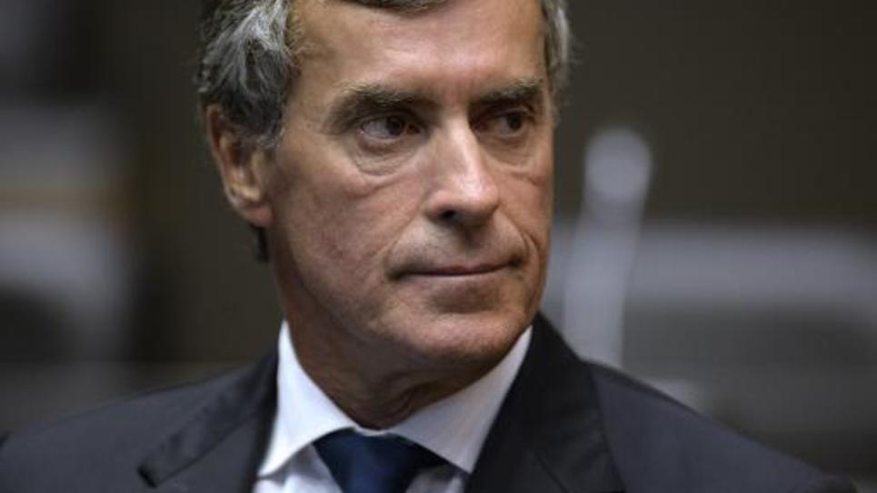 L'ancien ministre du Budget Jérôme Cahuzac lors d'une audition devant une commission parlementaires, le 23 juillet 2013 à Paris