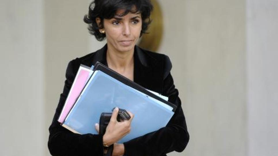 Rachida Dati le 12 septembre 2007 à l'Elysée à Paris