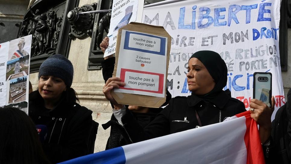 Manifestation le 19 octobre 2019 à Paris contre l'islamophobie