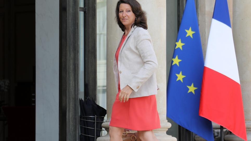 La ministre de la Santé Agnès Buzyn à Paris, le 28 août 2017