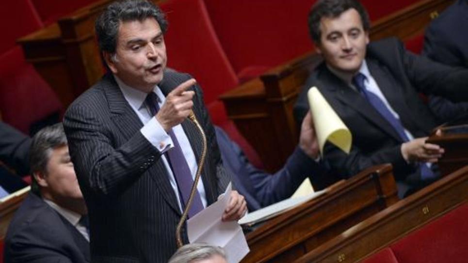 Le député UMP Pierre Lellouche le 26 juin 2013 à l'Assemblée nationale, à Paris