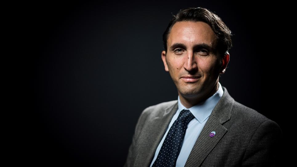 Le député LR Julien Aubert, à Paris, le 26 septembre 2017