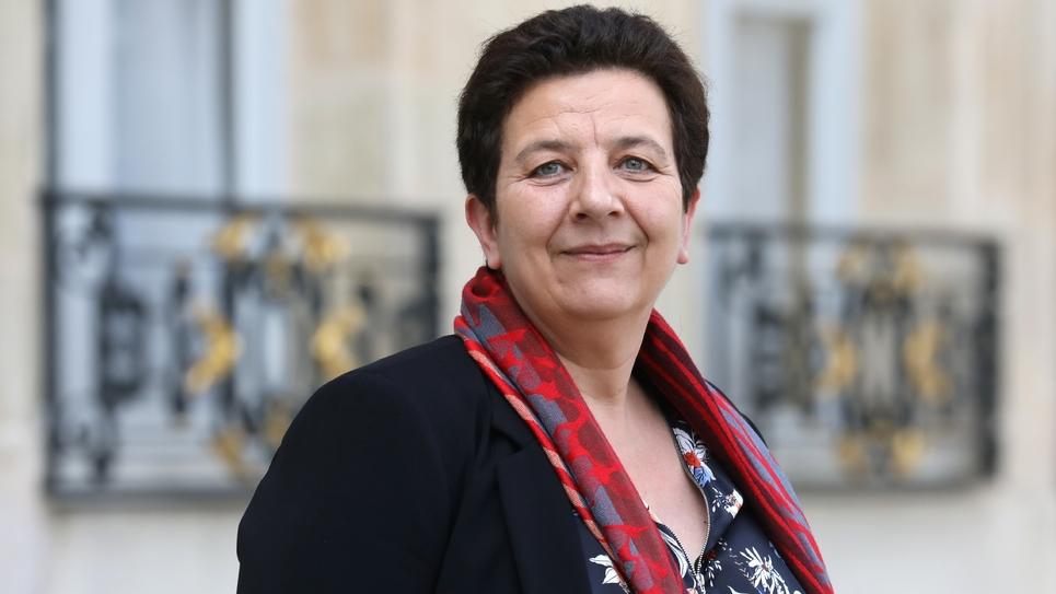 La ministre de l'Enseignement supérieur Frédérique Vidal, le 11 avril 2018 à Paris